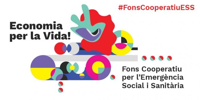 Fons cooperatiu per l'Emergència Social. Imatge de campanya