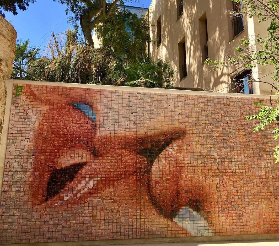 El món neix a cada petó' obra de l'artista Joan Fontcuberta